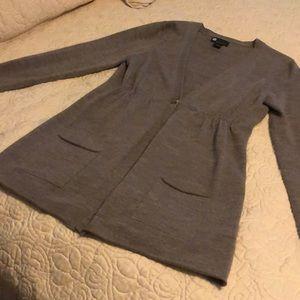 Single button cardigan
